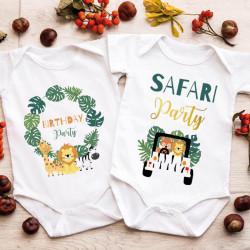 "Lot 2 Bodies - Twins | ""Safari Party"""