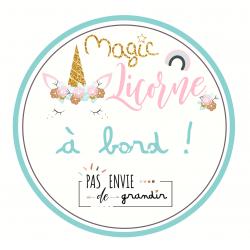 Magic Licorne à Bord