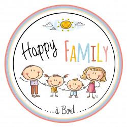 Happy Family à bord